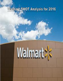 Walmart Analysis for 2016