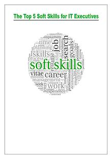 Soft Skills for IT Executives