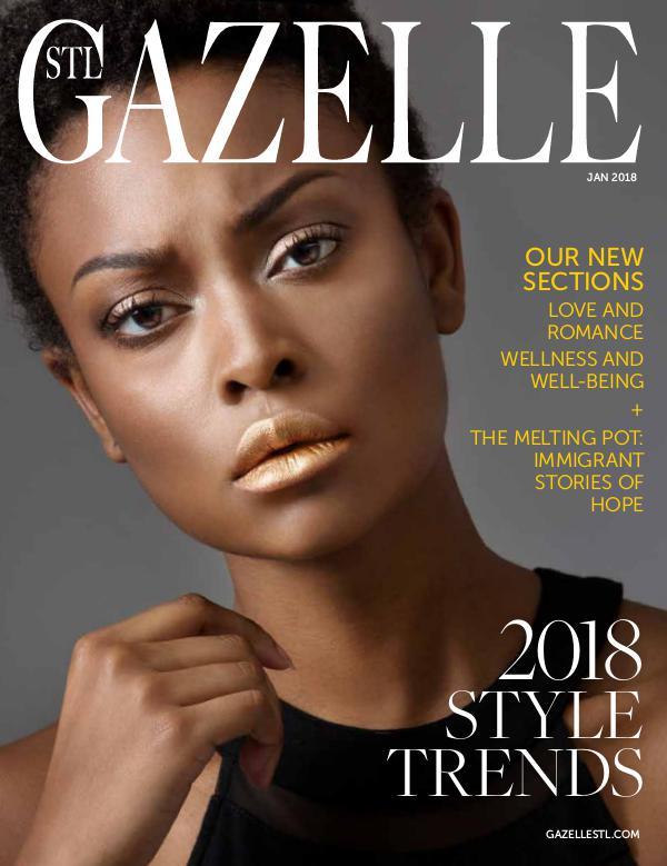 GAZELLE MAGAZINE JANUARY 2018