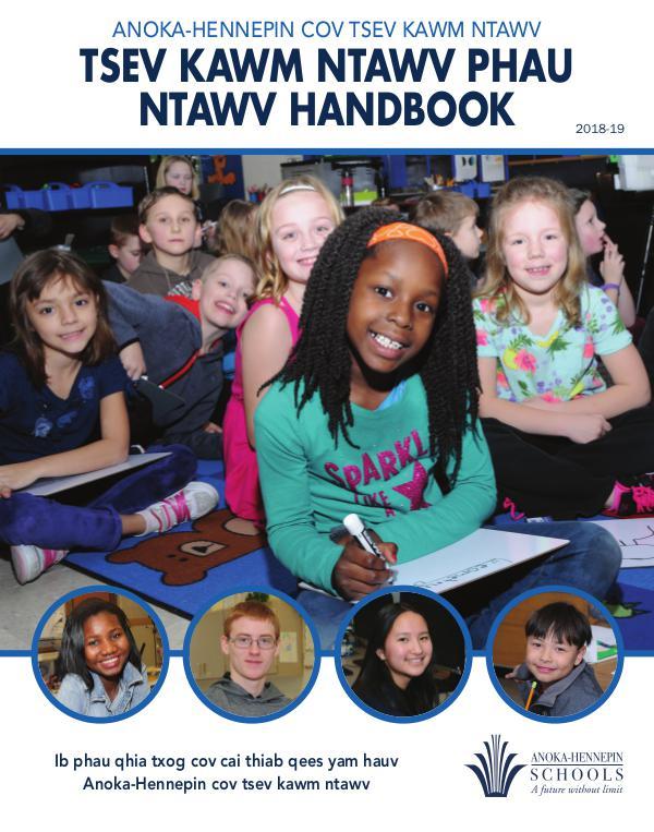 Reports, guides, handbooks Policy handbook 2018-19 [Hmong]