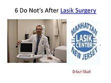 6 Do Not's After Lasik Surgery