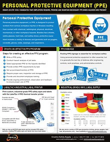 Personal Protective Equipment (PPE) - Creative Safety Supply