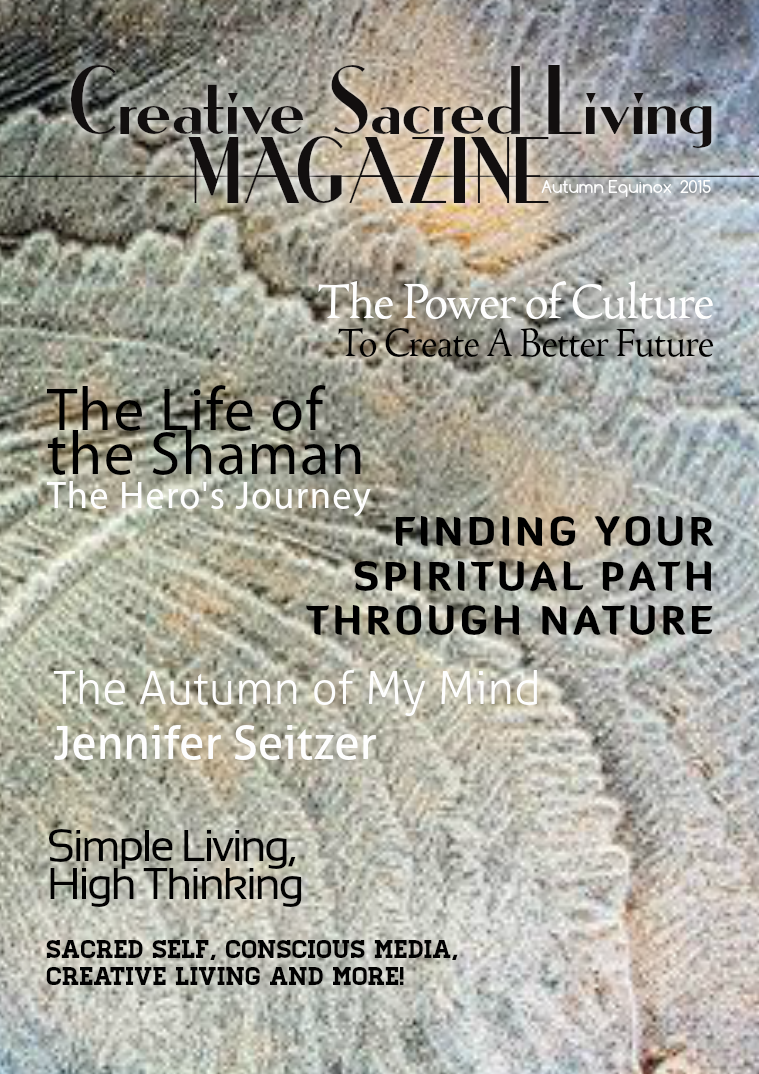 Creative Sacred Living Magazine Autumn Equinox 2015