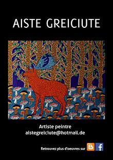 Aiste GREICIUTE - Artist book