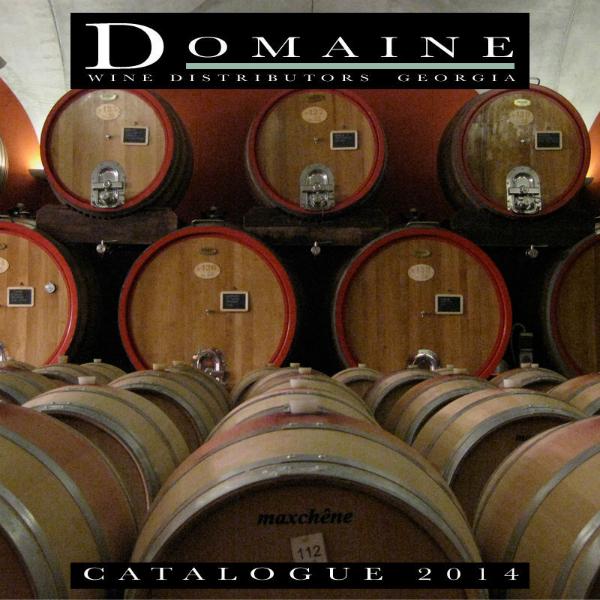 Domaine Wine Distributors Catalogue 2014