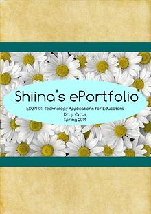 Shiina's ePortfolio