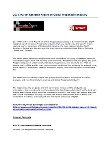 2014 Market Research Report on Global Propanediol Industry.pdf