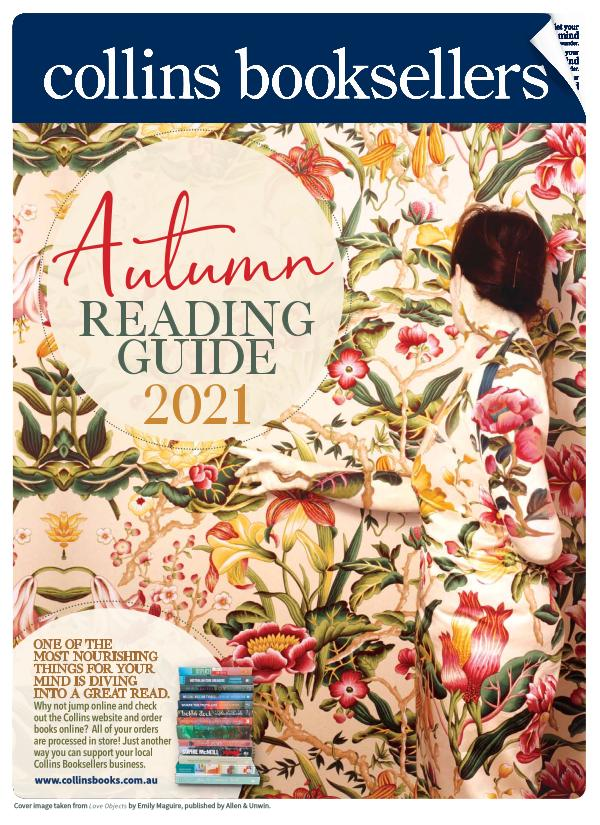 Collins Booksellers Autumn Reading Guide 2021