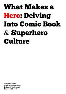 Superhero Culture