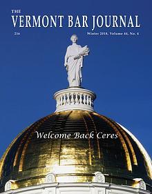 Vermont Bar Journal, Vol. 40, No. 2