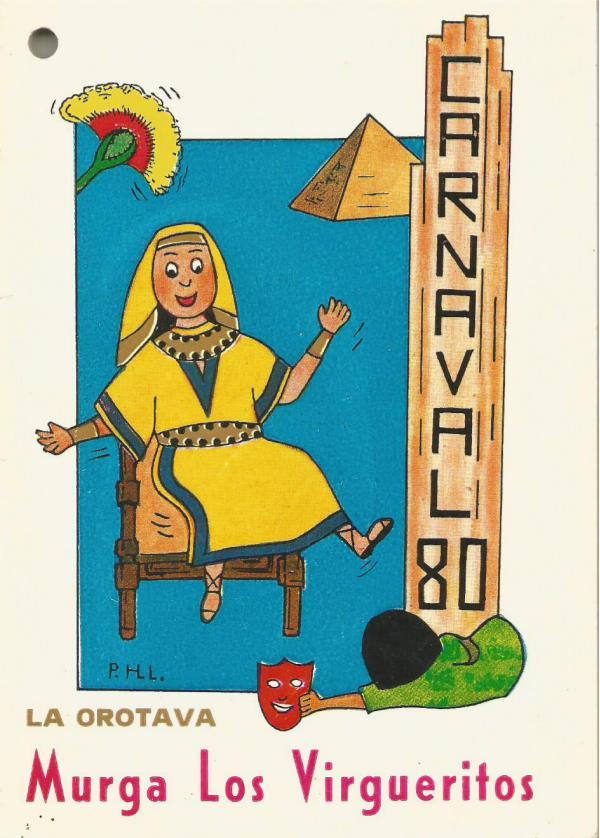 Cancioneros de Los Virgueritos Año 1980