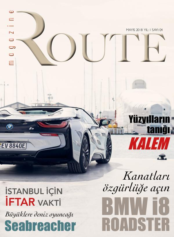 Route Magazine Mayıs 2018