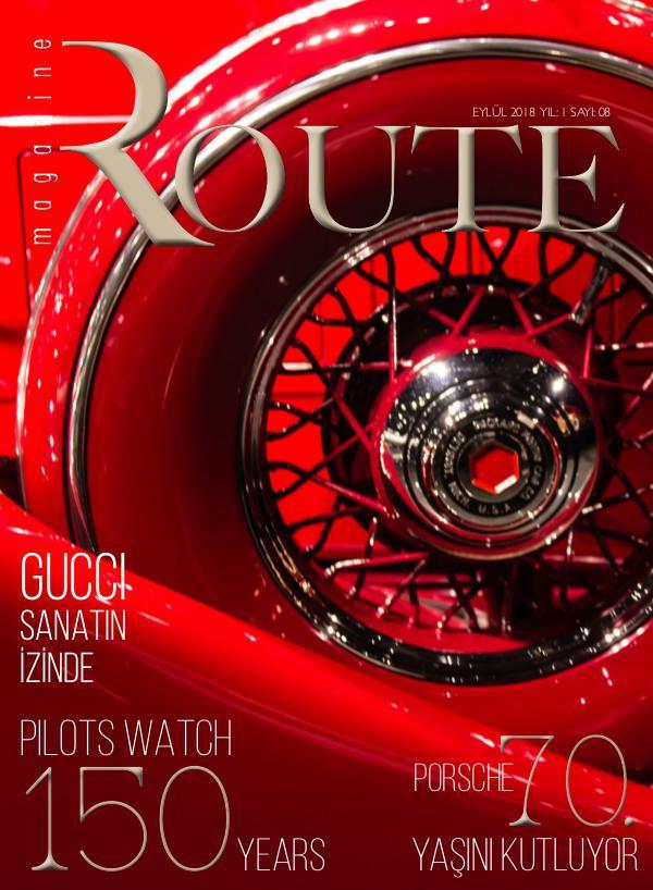 Route Magazine Eylül 2018