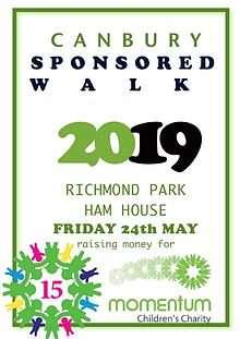 Canbury Sponsored Walk 2019