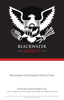 Blackwater Proposal