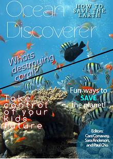 Coral Reef Destruction Magazine