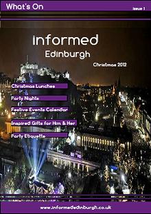 Informed Edinburgh Christmas E-magazine