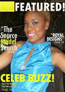 BE FEATURED! Magazine