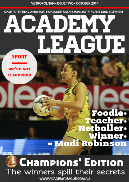Academy League Magazine Issue 2 - October 2014