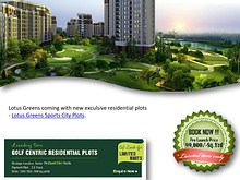 #Lotus Greens Plots# - #Lotus Greens Sports City Plots Noida#