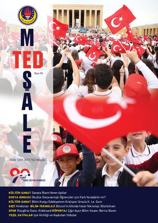 TED Meşale Dergisi 26. Sayı