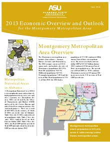 Economic Overview and Outlook for the Montgomery Metropolitan Area