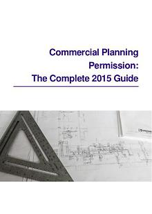 Commercial Planning Permission: The Complete 2015 Guide
