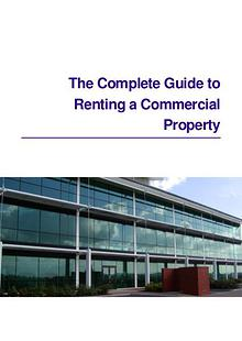 The Complete Guide to Renting a Commercial Property