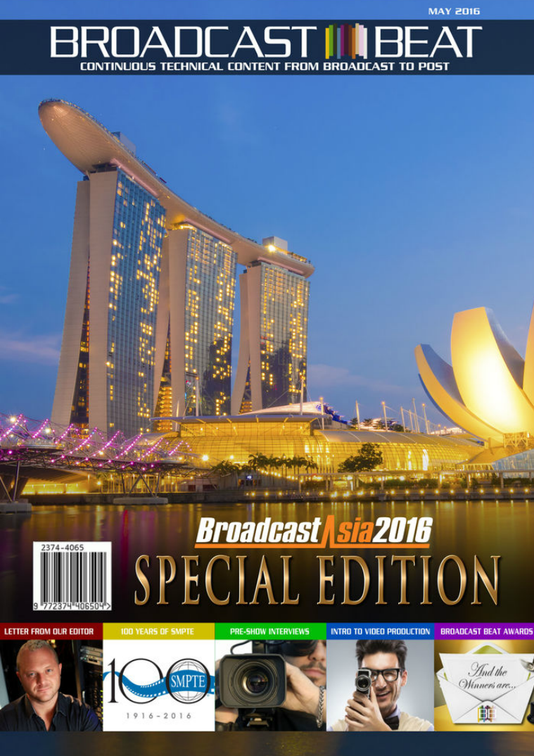 2016 BroadcastAsia Edition