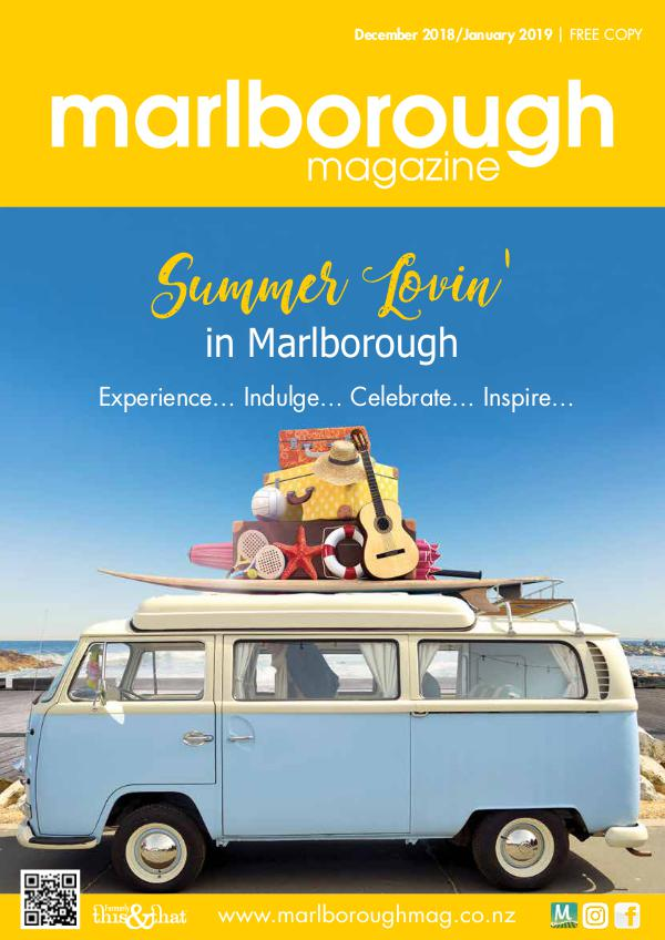 Marlborough Magazine December/January Edition