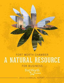 Fort Worth Chamber's 2013 Annual Report