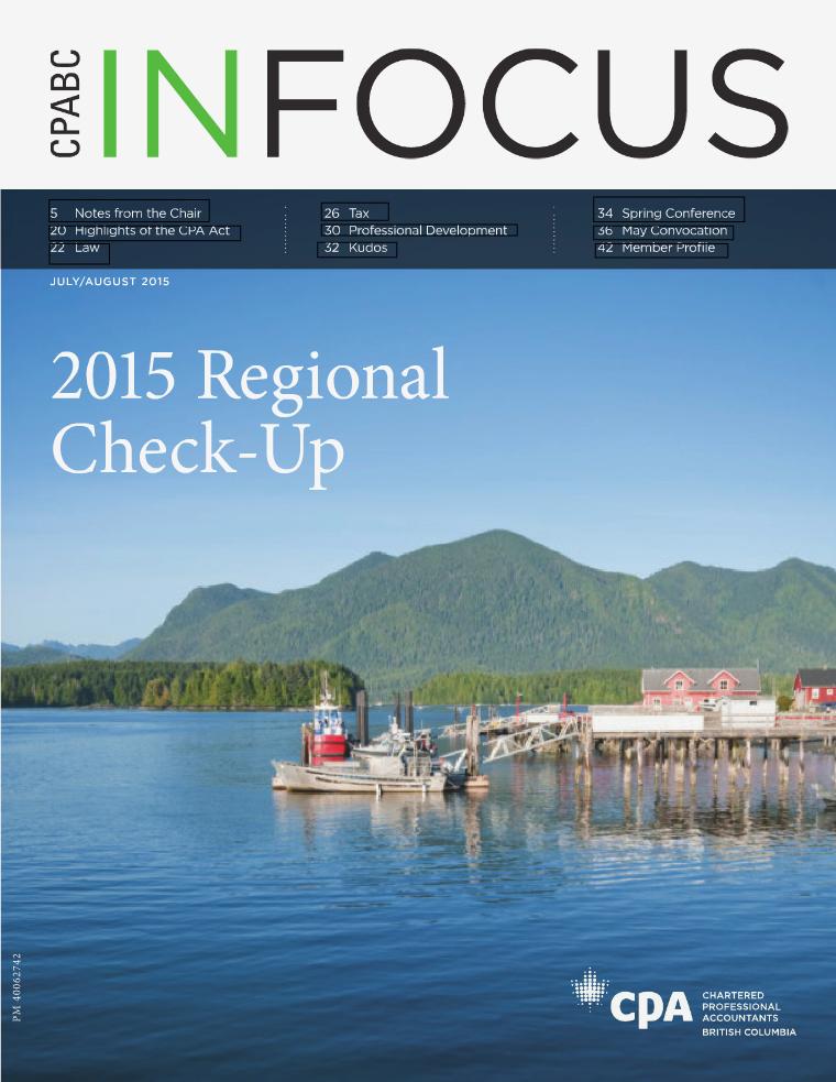 CPABC in Focus July/August 2015