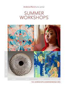 2020 Workshop Catalog: Anderson Ranch Arts Center