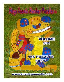 MAYA COSMIC NUMBER PUZZLES, VOL.501
