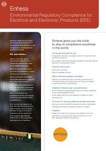 Compliance with Enhesa -