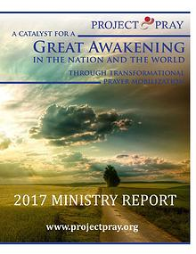 PROJECT PRAY Ministry Report