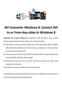 multimedia software tipsBest Fast AVI Joiner to Join Multiple AVI Fil