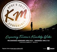 APQC's 2017 Knowledge Management Conference
