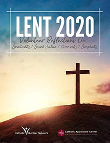 Lent 2020 Catholic Volunteer Network and Catholic Apostolate Center