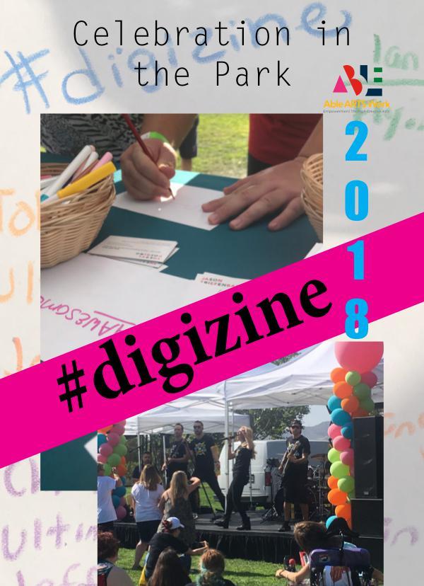 Celebration in the Park Digi Zine 2018 digizine2018