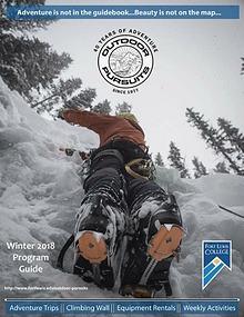 Outdoor Pursuits Program Guide