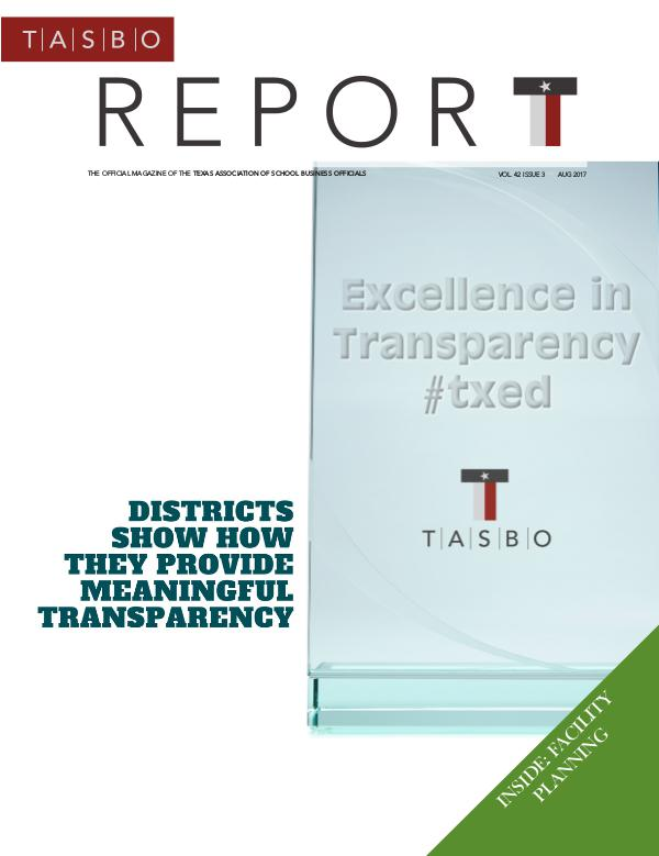 TASBO Report Aug 2017