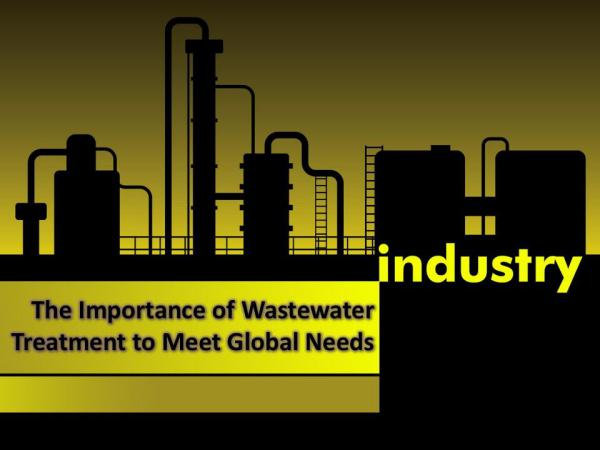 The Importance of Wastewater Treatment to Meet Global Needs The Importance of Wastewater Treatment