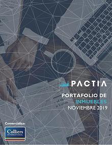 Revista Inmobiliaria Pactia Noviembre 2019