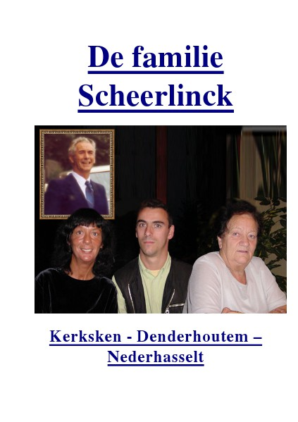 History, Wonder Tales, Fairy Tales, Myths and Legends De Familie Scheerlinck