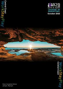 B2B with a Twist Publication - Work • Stay • Play October Edition