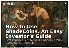 """Everything You """"Never"""" Wanted To Know About """"ShadeCoins"""""""