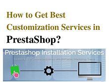 PrestaShop E-Commerce Design Services