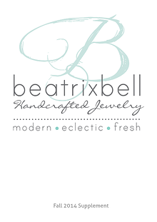 Beatrixbell Handcrafted Jewelry Fall 2014