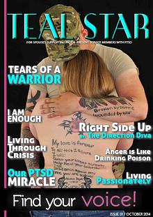 Battling BARE's Teal Star: The #PTSD Magazine